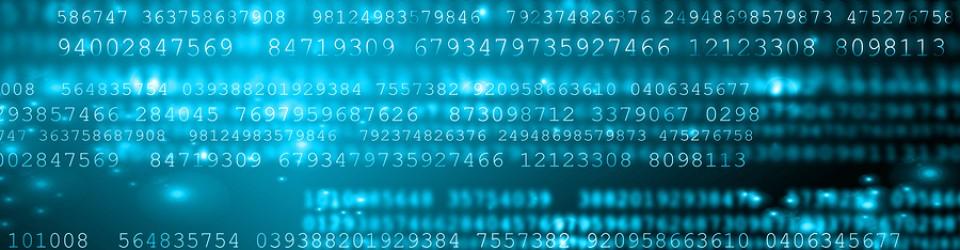 Digital Background. Secure data concept. Digital flow, symboliz
