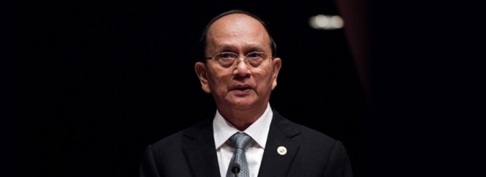 President Thein Sein van Myanmar