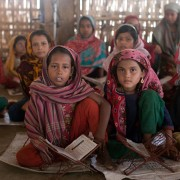 Koranles voor Rohingya kinderen
