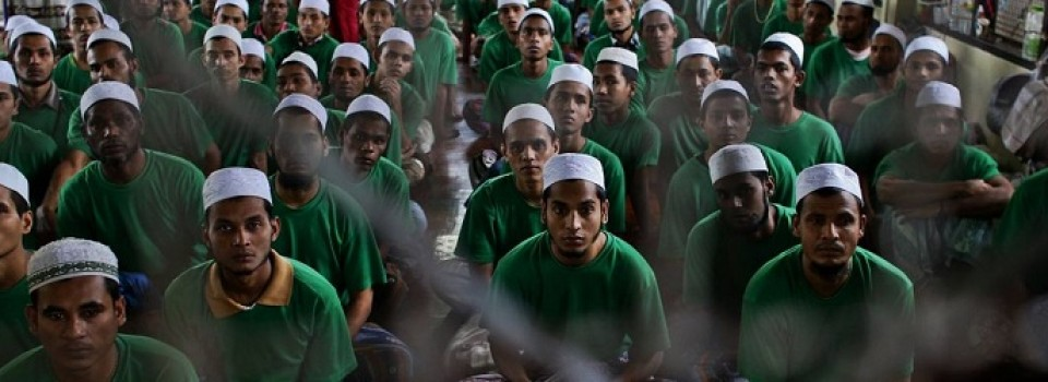 Rohingya detentie thailand