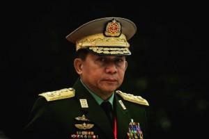 De Myanmarese generaal Min Aung Hlaing mag Amerika niet meer in.