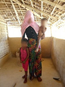 Van de 408 families in het dorpje zijn er 200 zeer slecht aan toe.