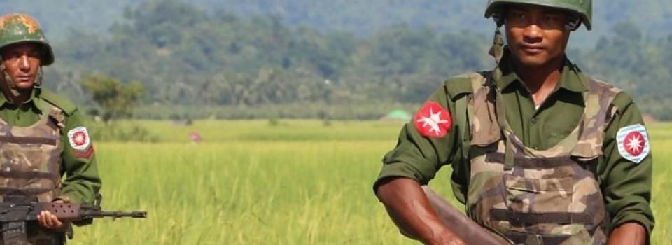 myanmar leger