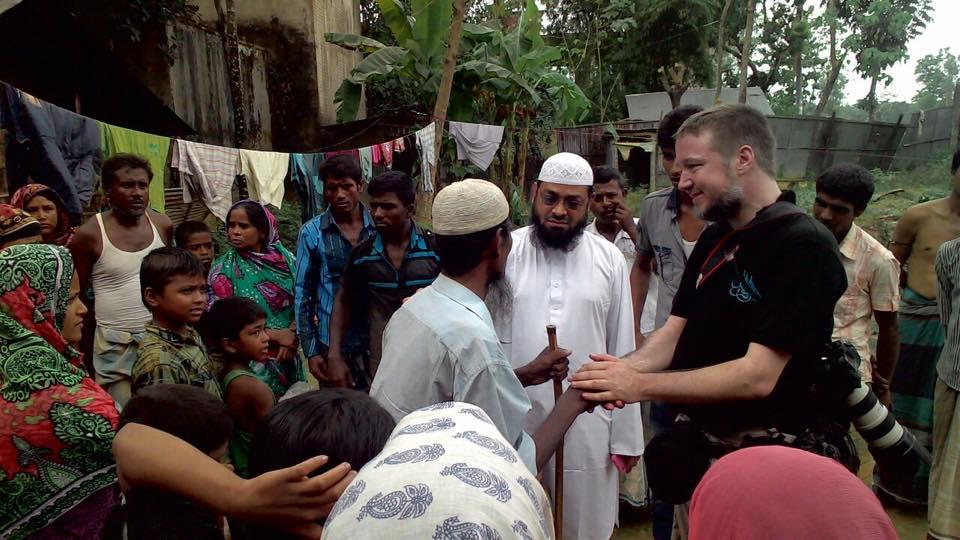 Bezoek aan Rohingya; in beeld Jeroen Hendriks.